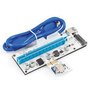 PCIe 16X به 1X